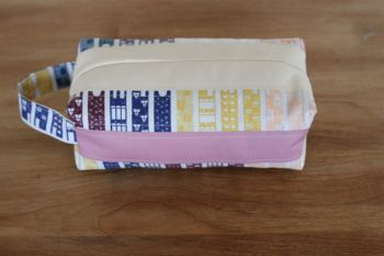 A Dorset Patchworks Bits and Bobs Quilted Box Pouch (Life's Journey)