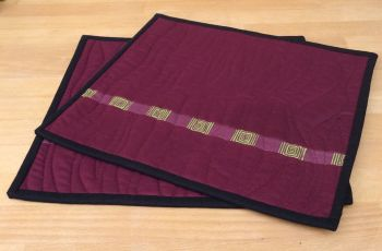 Set of Two Make It Simpler Place Mats (Wide)