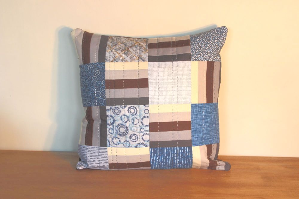 MicroLife Textures Hand-quilted Envelope Cushion(2)