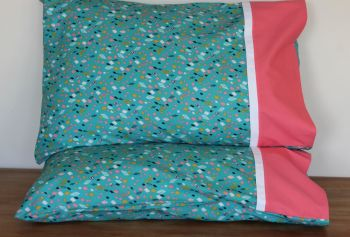 Pair of Boho Meadow Pillow Cases