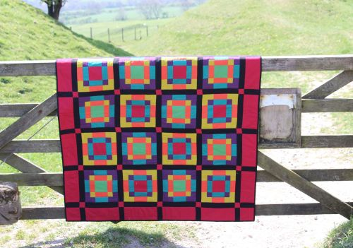 Nine Patch Nonsense Quilt