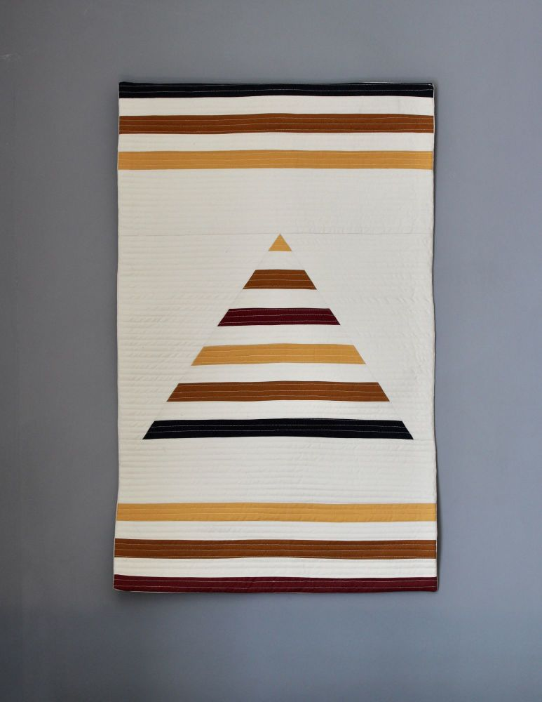 One Peak Quilted Wall Hanging