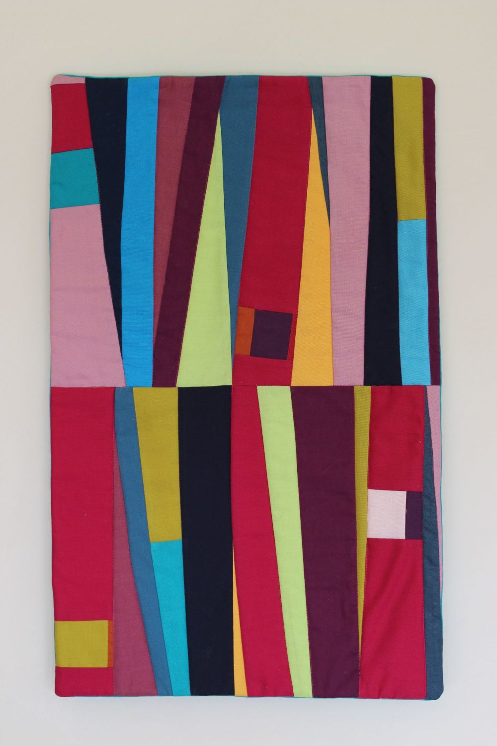 Sangria Quilted Wall Hanging