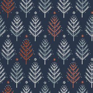 Dashwood Studio - Winterfold - Trees - Charcoal