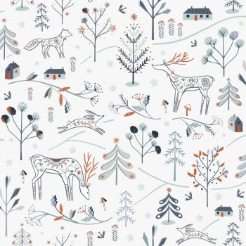 Dashwood Studio - Winterfold - Little Deer - White