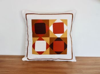 Exploding Block Envelope Quilted Cushion