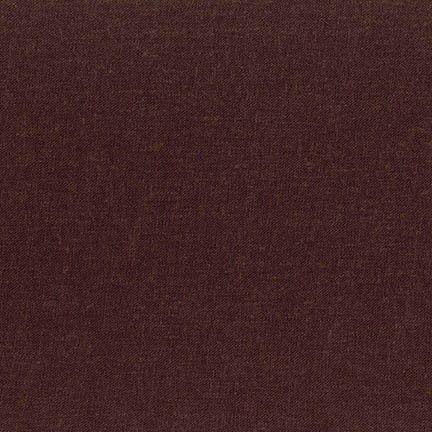 Robert Kaufman -  Brussels Washer Brown Linen Blend