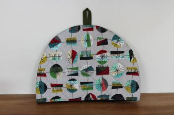 Mid Mod Main in Grey Quilted Tea Cosy(3)