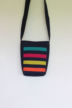 Bright Stripes Cross-Over Bag(1)