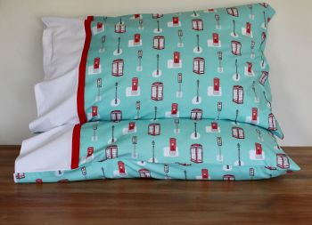 Pair of Street Life Pillow Cases(1)