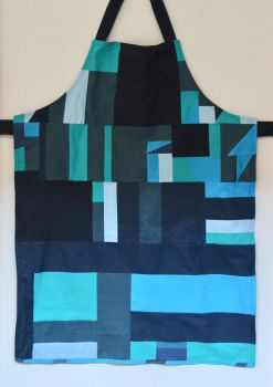 Reversible Apron In Blues