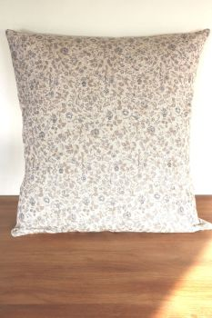 Hand Quilted Linen Cushion