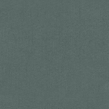 Robert Kaufman -  Essex Linen - Iron