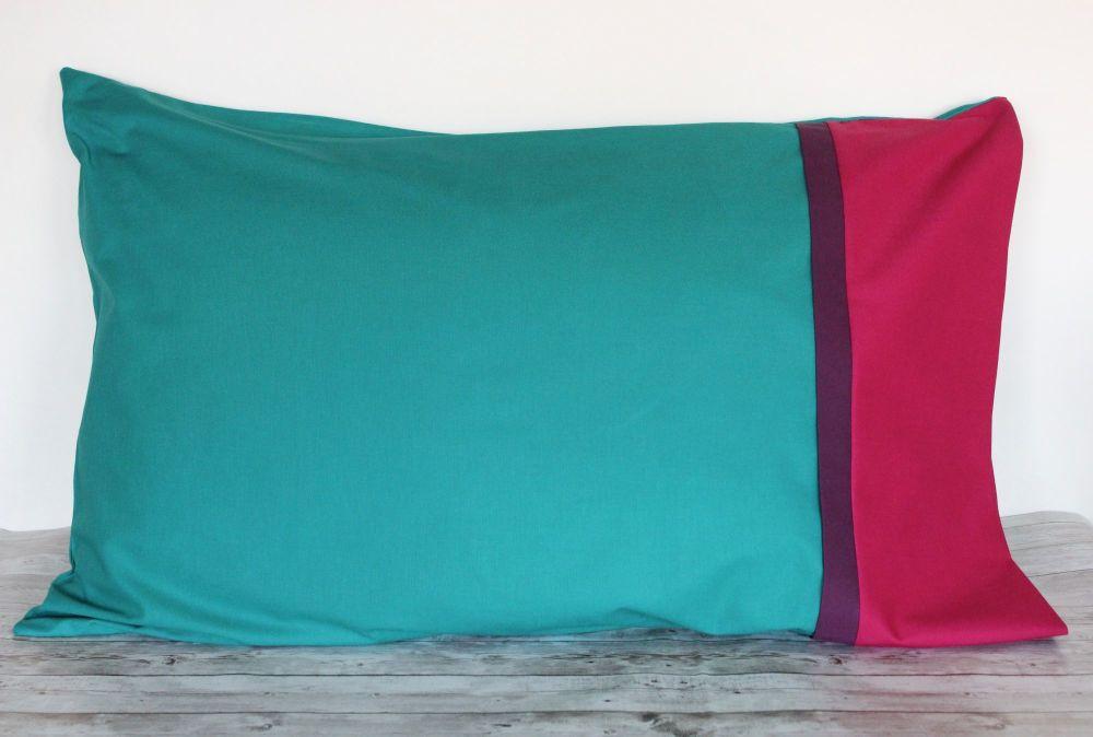 Pair of Pillow Cases (Emerald)