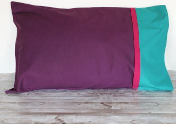 Pair of Pillow Cases (Eggplant)