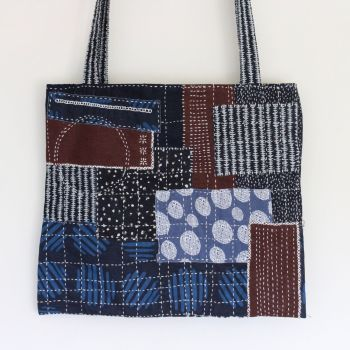 Boro Inspired Tote Bag