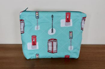 A Dorset Patchworks Bits and Bobs  Pouch (Street Life)