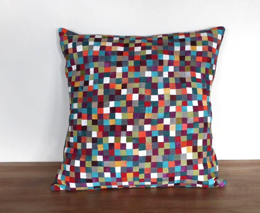 Jewels Patchwork Envelope Cushion