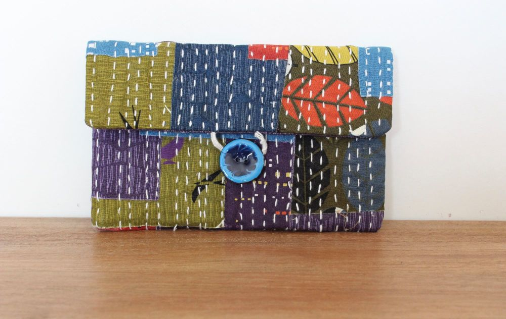 Boro Inspired Clutch Bag(1)