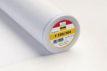 Vilene Lightweight Iron-On Interfacing - White (F220/304)