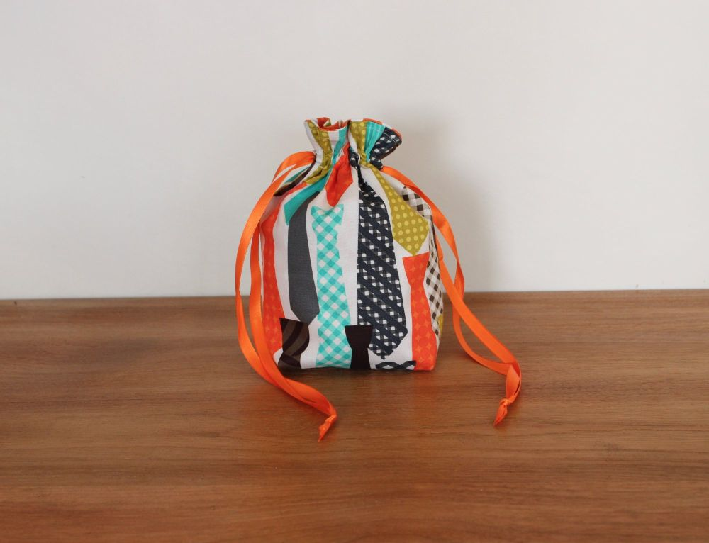 'Ties' Drawstring Gift Bag(2)