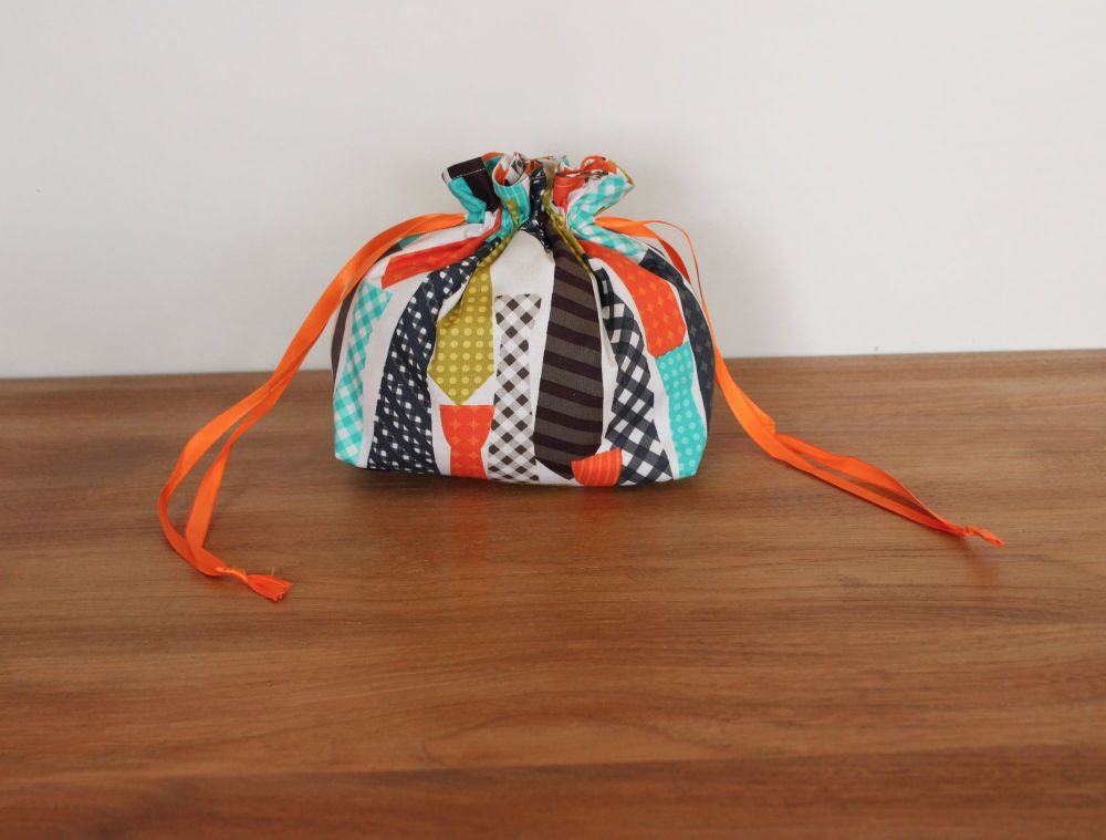 'Ties' Drawstring Gift Bag(3)