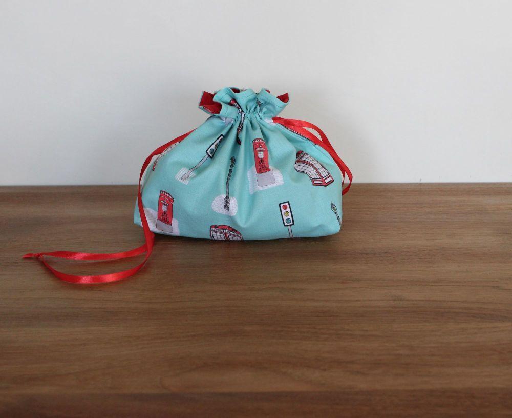 Street Life Drawstring Gift Bag(3)