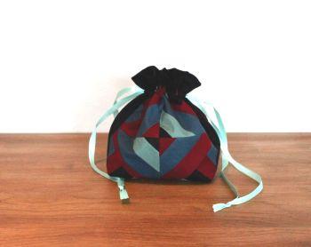 Improvised Court House Steps Drawstring Gift Bag
