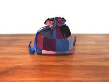 Patchwork Drawstring Gift Bag(1)