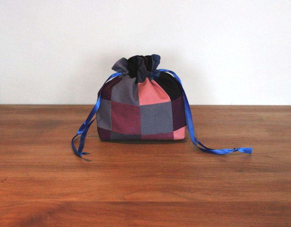 Patchwork Drawstring Gift Bag(2)