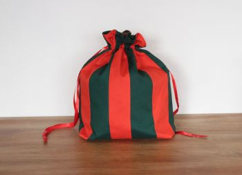 Christmas  Colours Drawstring Gift Bag(1)