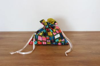 Christmas Drawstring Gift Bag - Merry and Bright(1)