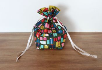 Christmas Drawstring Gift Bag - Merry and Bright(2)