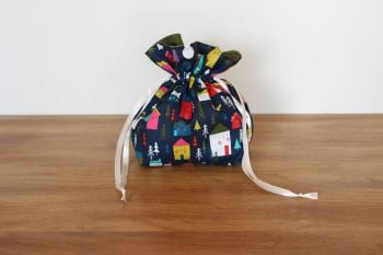 Christmas Drawstring Gift Bag - Merry and Bright(5)