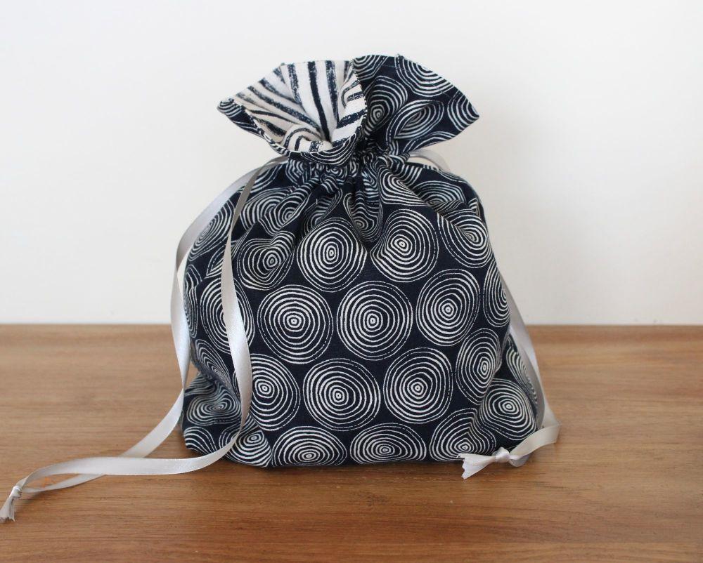 Midnight Garden Drawstring Gift Bag