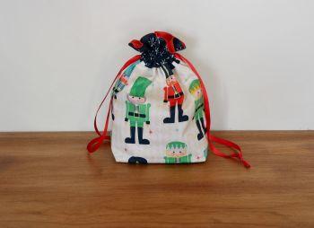 Christmas Drawstring Gift Bag - Nutcracker Christmas(3)