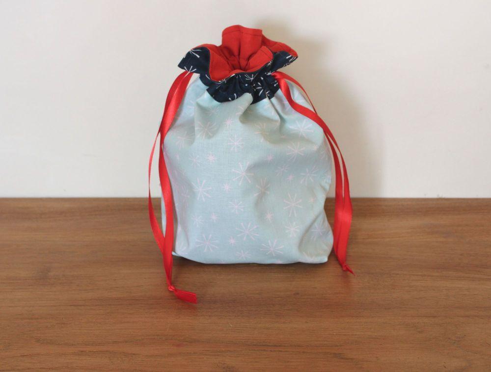 Christmas Drawstring Gift Bag - Nutcracker Christmas(5)