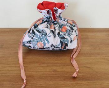 'Spice' Drawstring Gift Bag(Swan)(3)