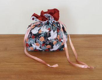 'Spice' Drawstring Gift Bag(Birds)(7)