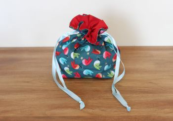 'Forest Friends' Christmas Drawstring Gift Bag(4)