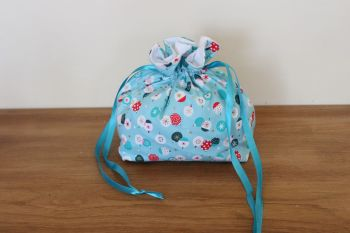'Forest Friends' Christmas Drawstring Gift Bag(6)