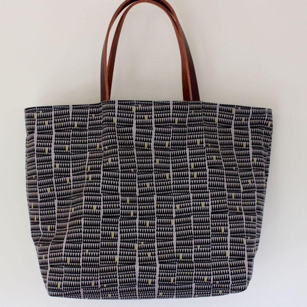 Small Zinc Tote Bag