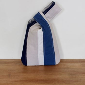Japanese Knot Bag(Small) - Blues