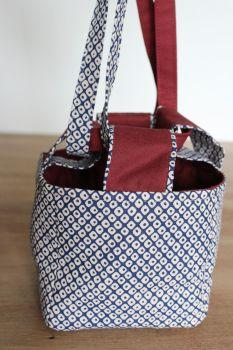Japanese Rice Bag - Kasuri(2)- Small