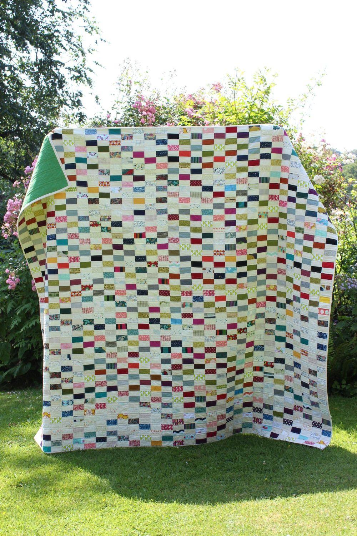 Scrappy Patchwork Quilt (Queen Size)