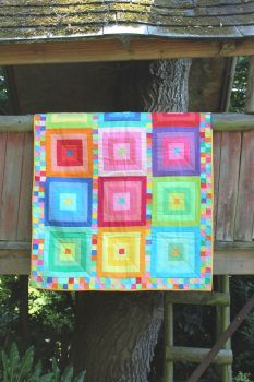 Bright Palette Baby Quilt/Play Mat(2)