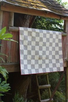 Crawford Stripes Baby Quilt