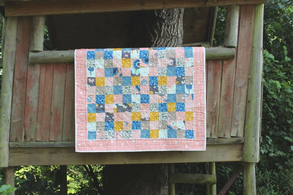 September Blue Baby Quilt