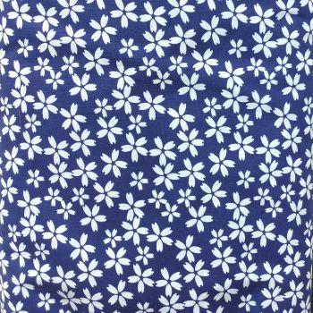 Fabric Freedom - 100% Cotton Cretonne - Nagasaki - Blue