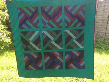 Dark Palette Baby Quilt/Play Mat(2)